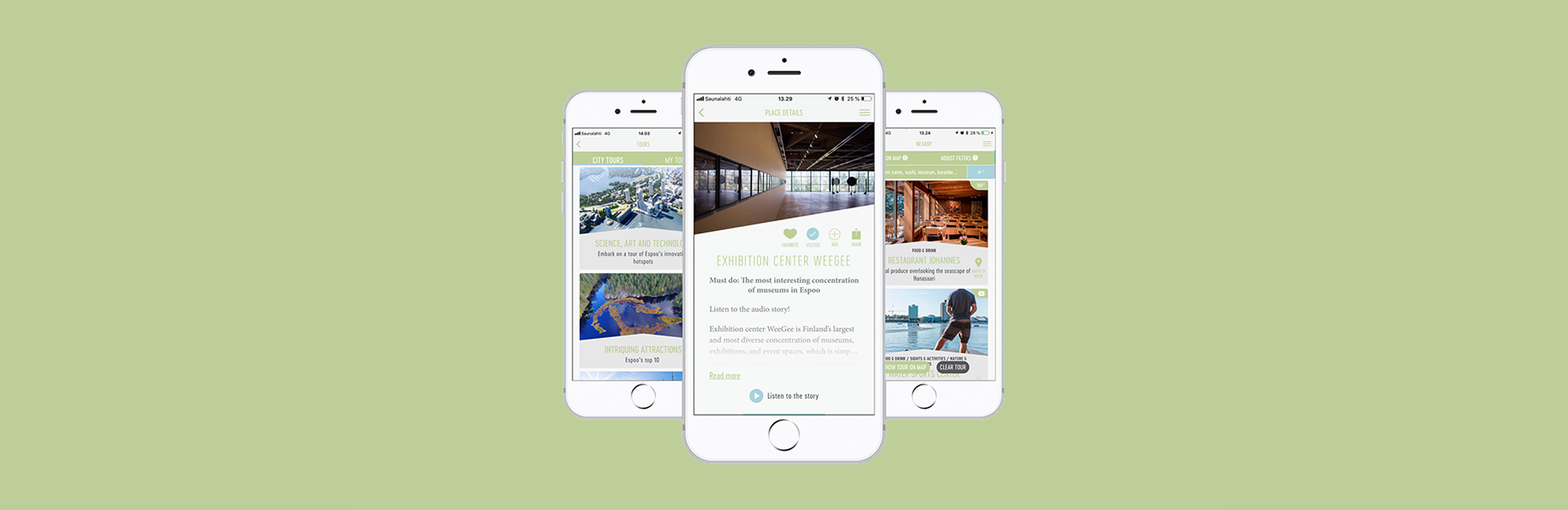 Espoo Innovation Garden's hotspots are now highlighted in a new travel app.
